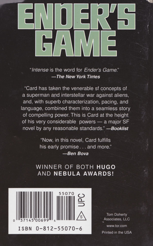 Good title for essay about Enders Game?
