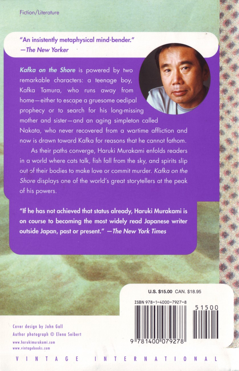 Questions for Murakami about Kafka on the Shore