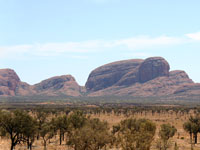 Kata Tjuta mountain.